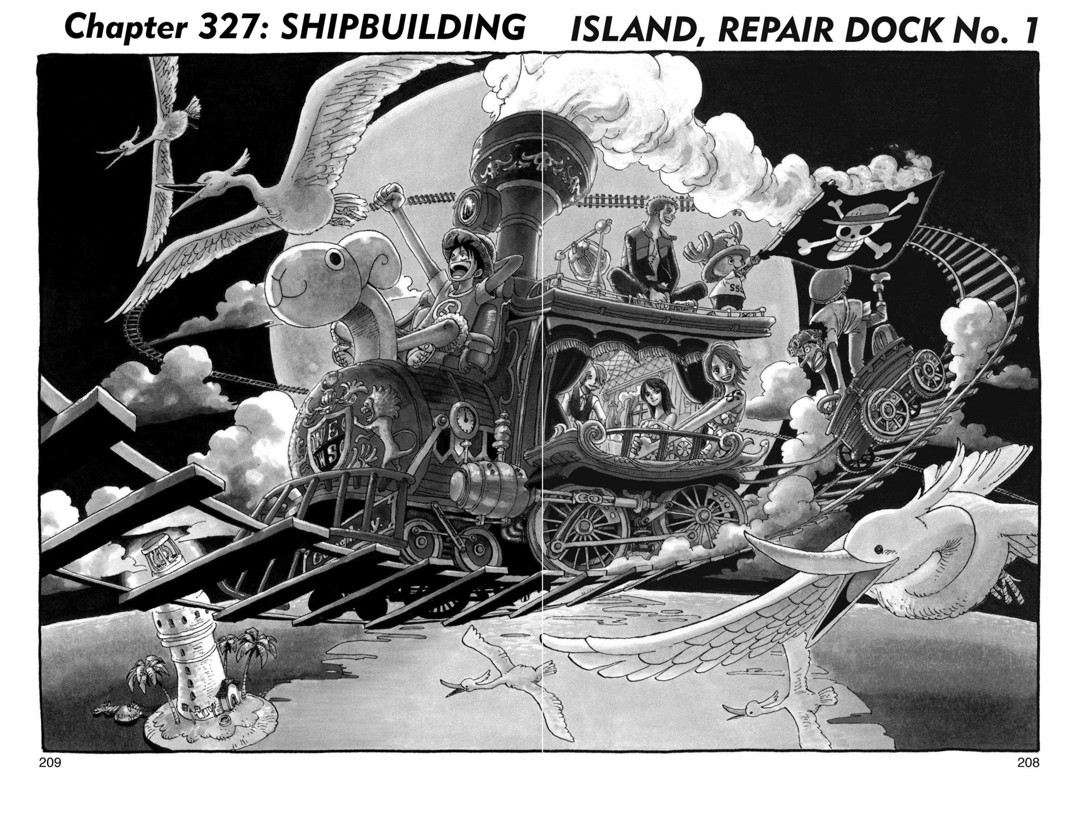 One Piece, Chapter 327 image 001