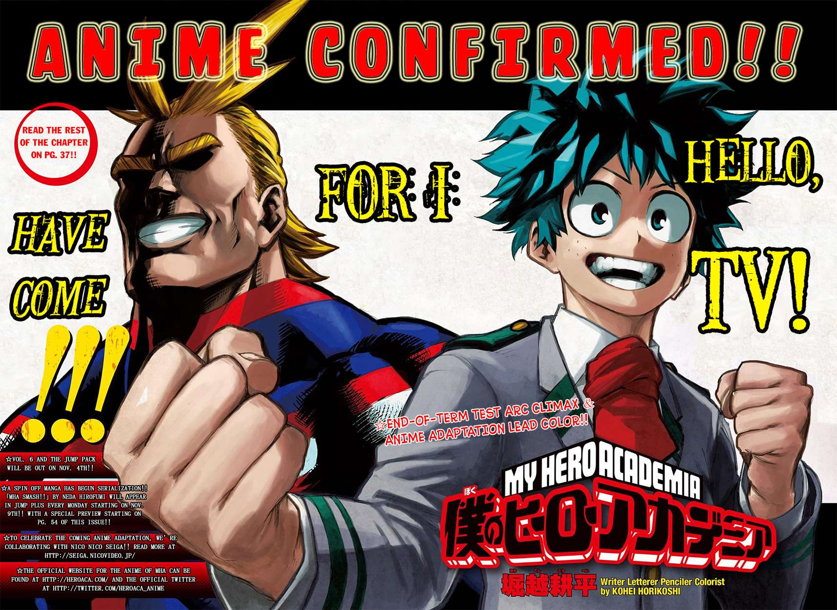 My Hero Academia, Chapter 65 image 004