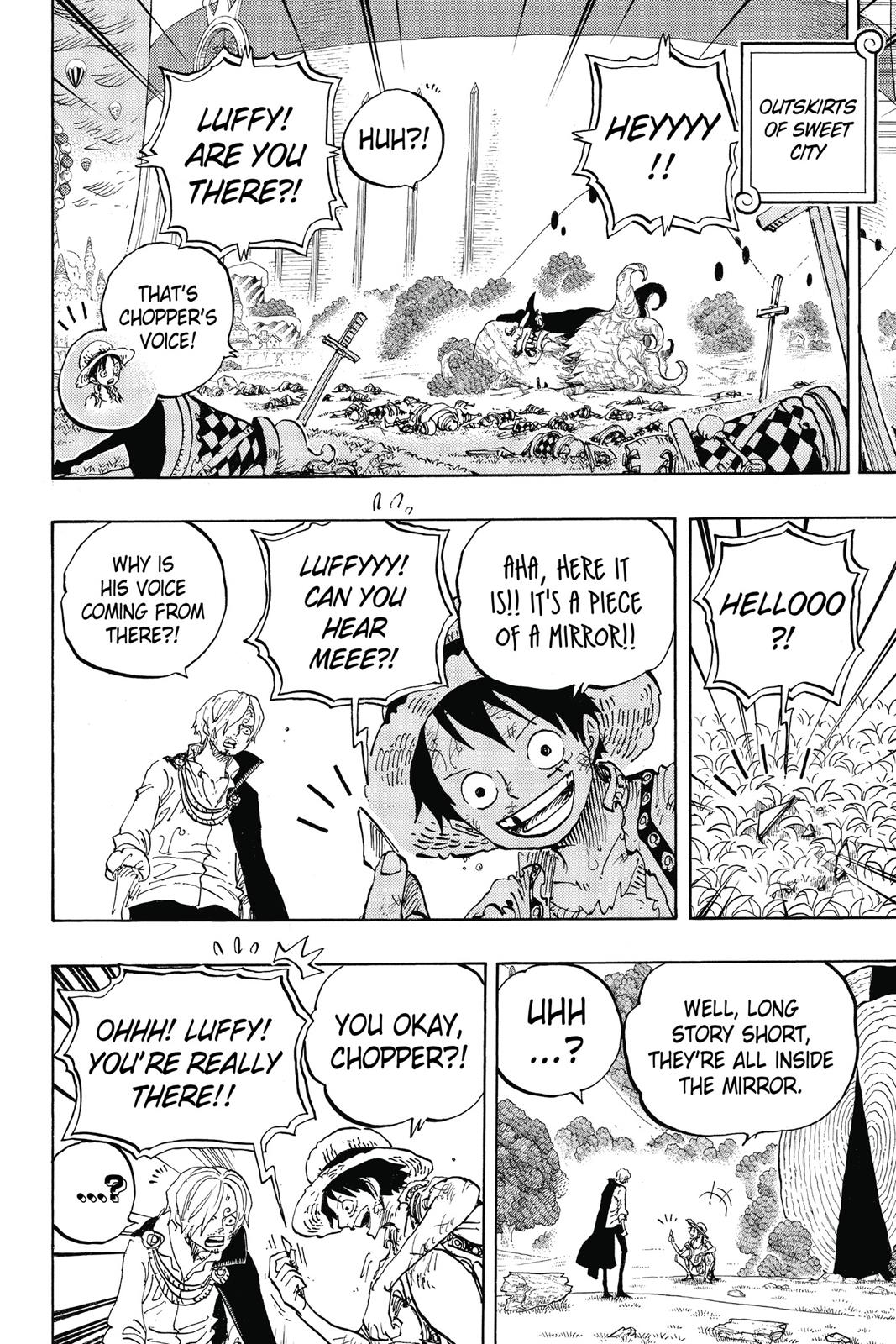 One Piece, Chapter 857 image 004