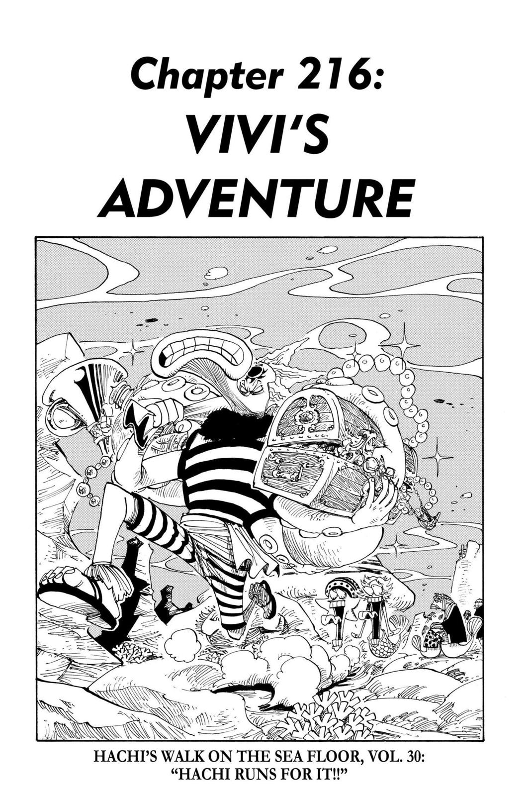 One Piece, Chapter 216 image 001
