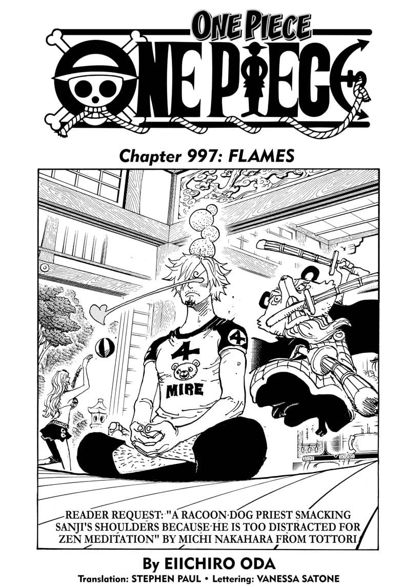 One Piece, Chapter 997 image 001