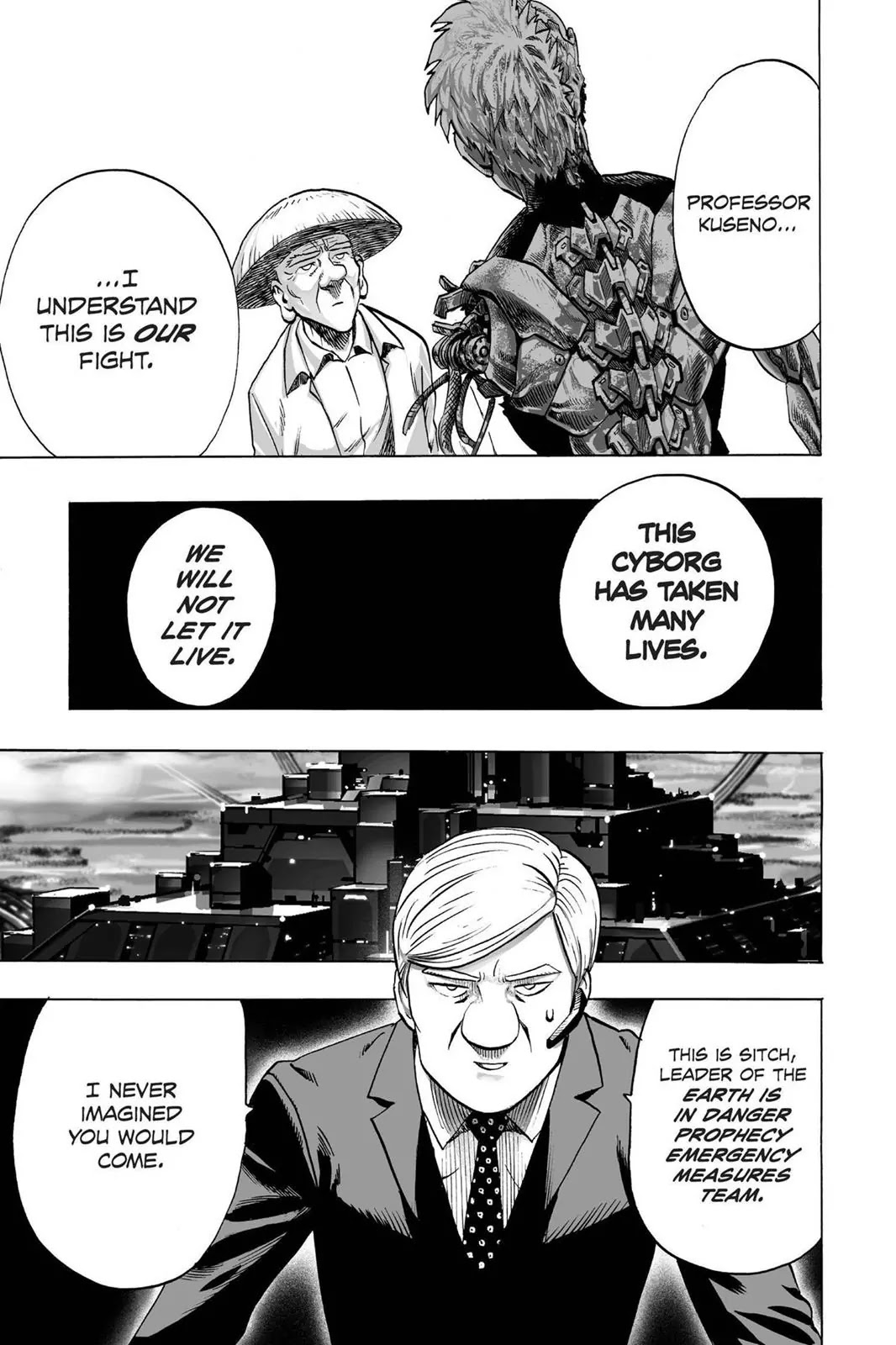 One Punch Man, Chapter Onepunch-Man 40 image 007