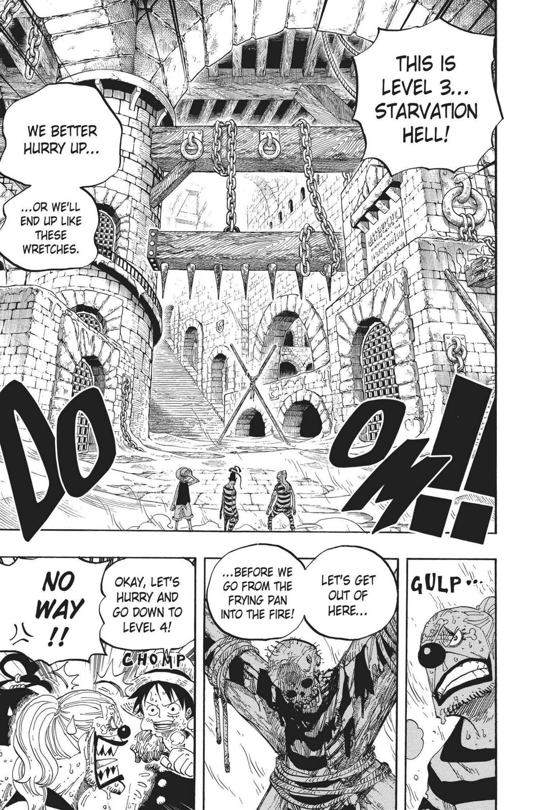 One Piece, Chapter 530 image 009