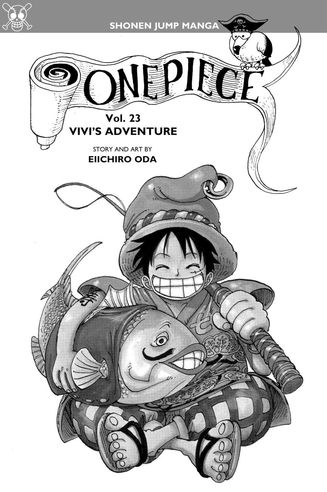One Piece, Chapter 206 image 004