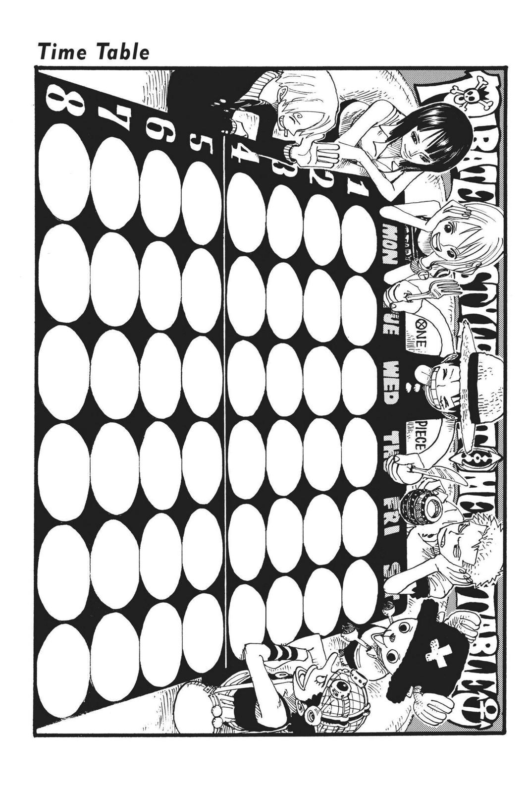 One Piece, Chapter 305 image 019
