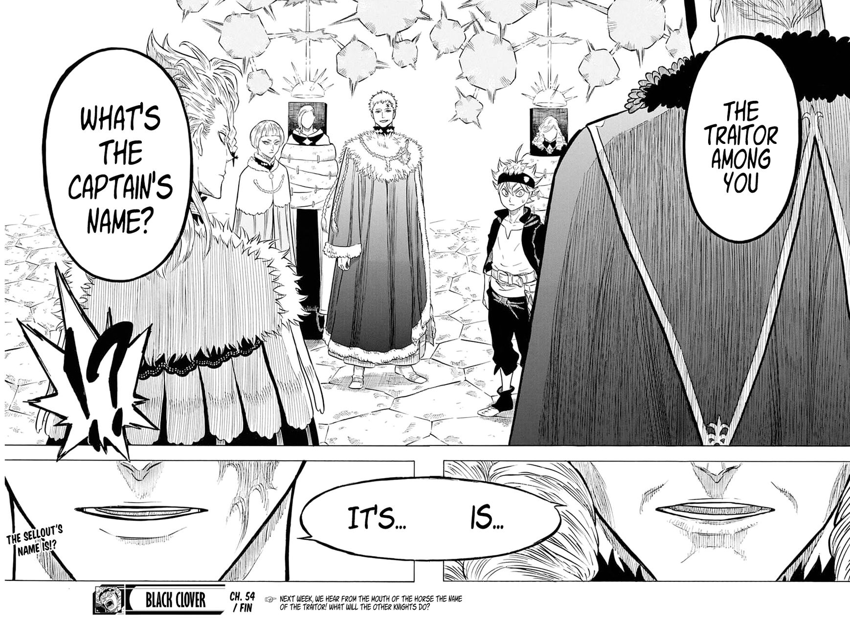Black Clover, Chapter 54 A meeting of the magic knight captains image 017