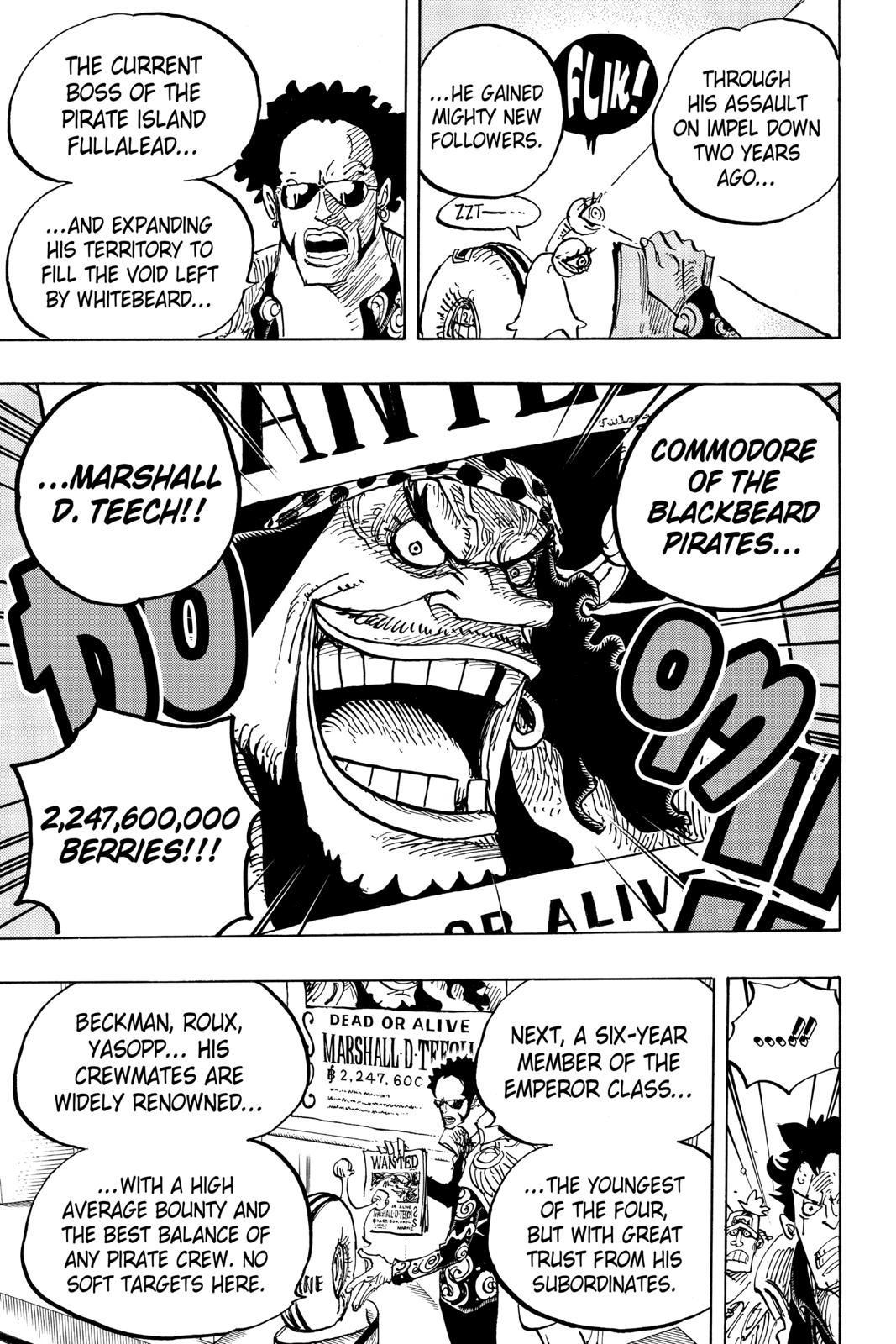 One Piece, Chapter 957 image 013