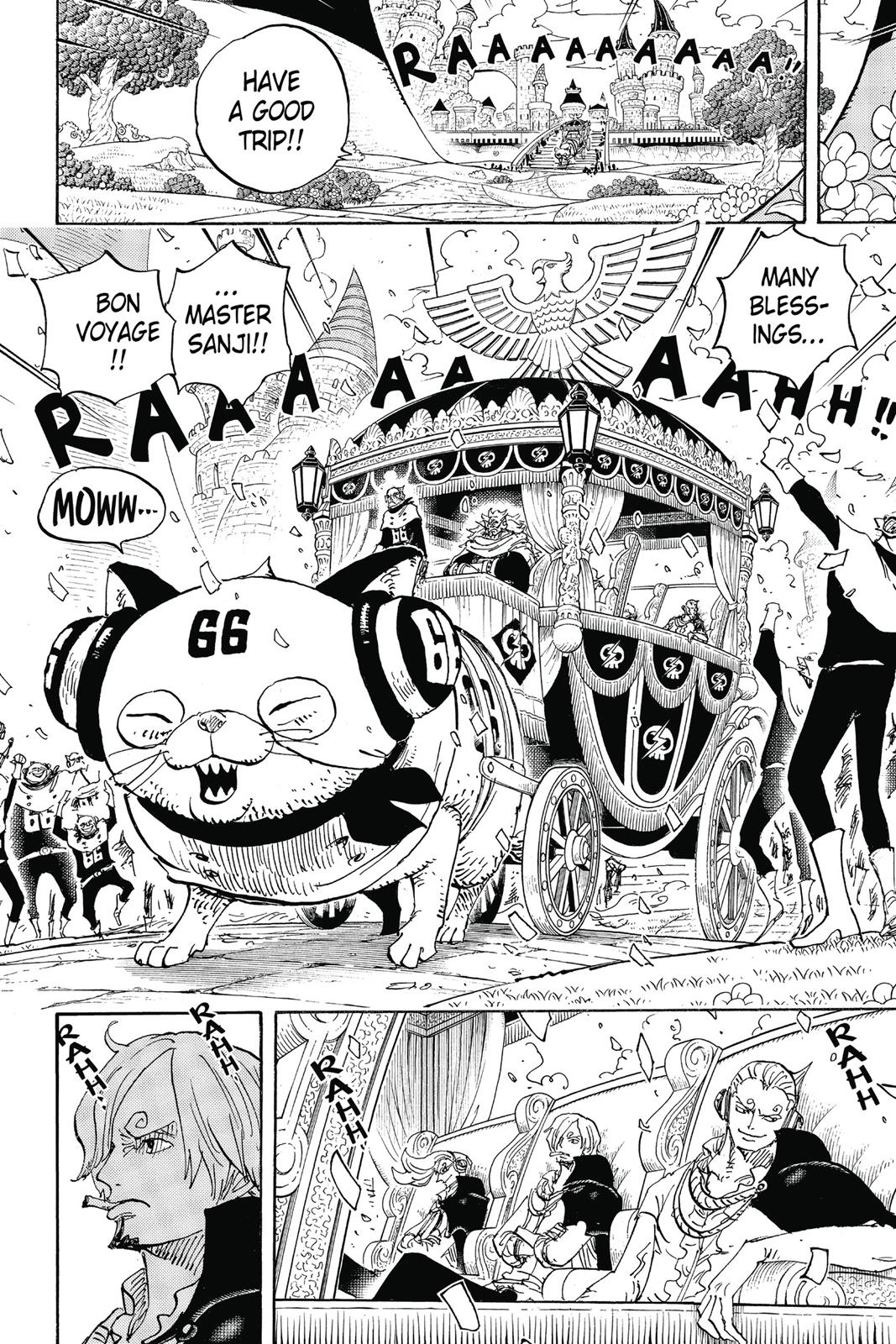 One Piece, Chapter 842 image 009