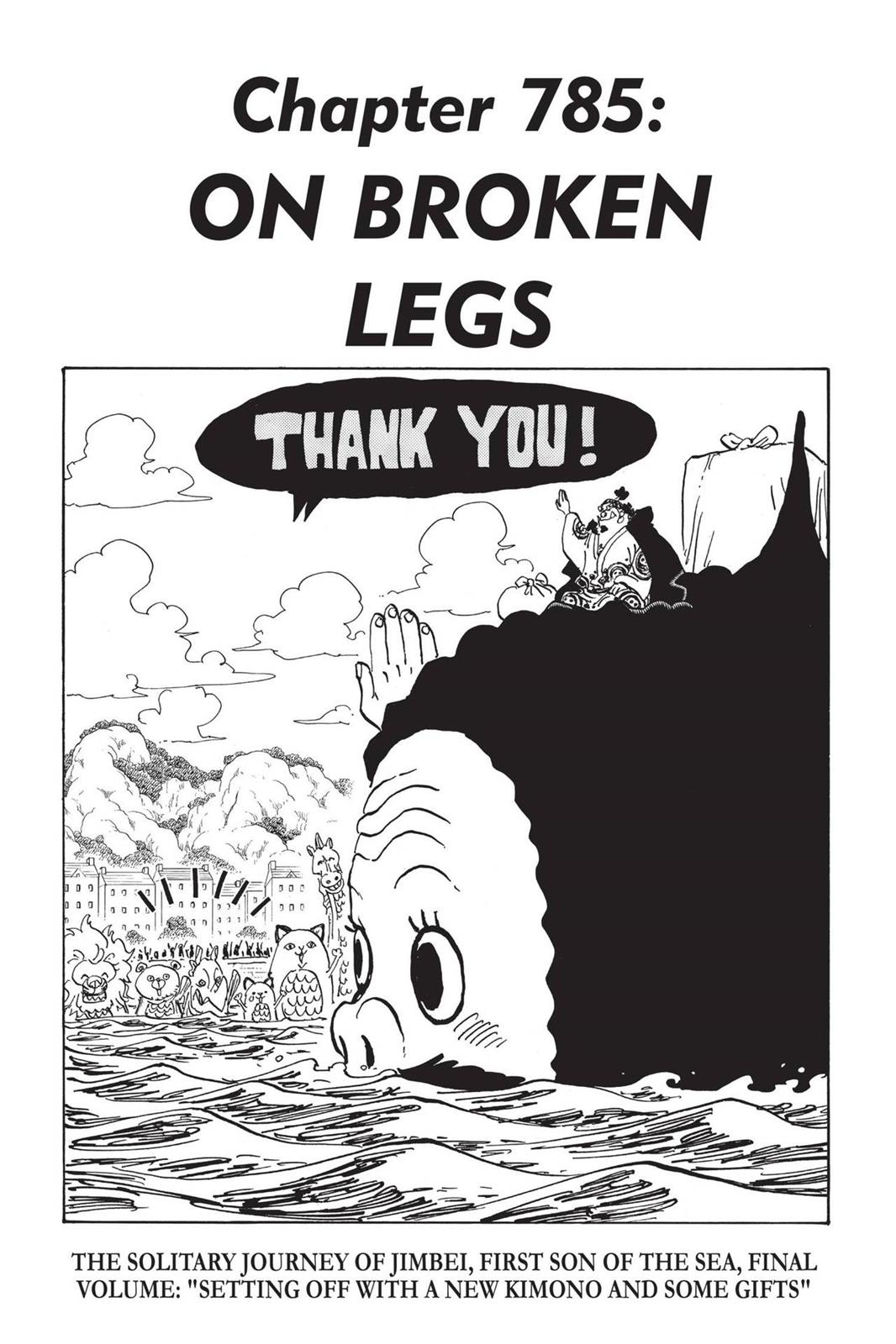 One Piece, Chapter 785 image 001