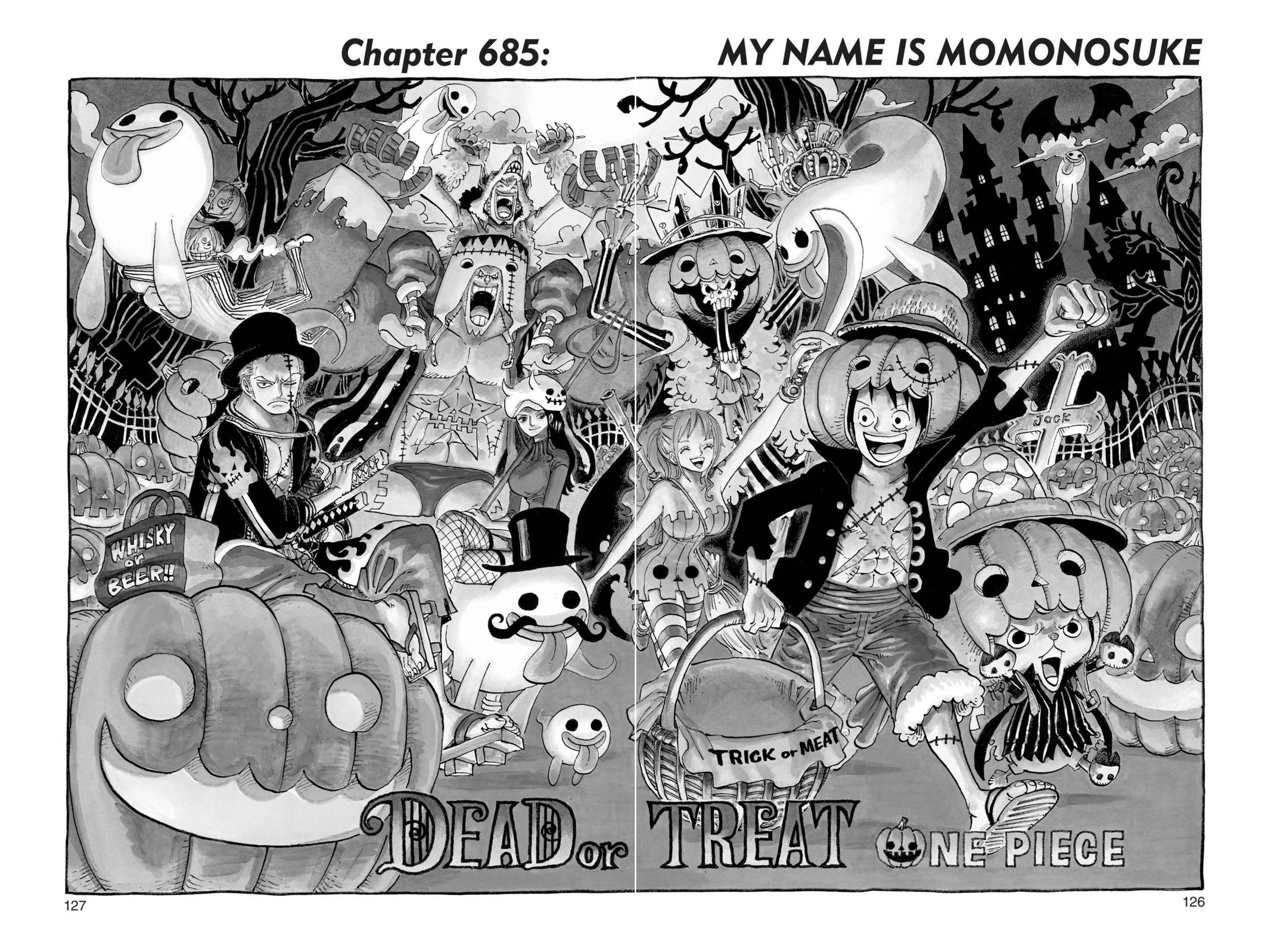 One Piece, Chapter 685 image 001