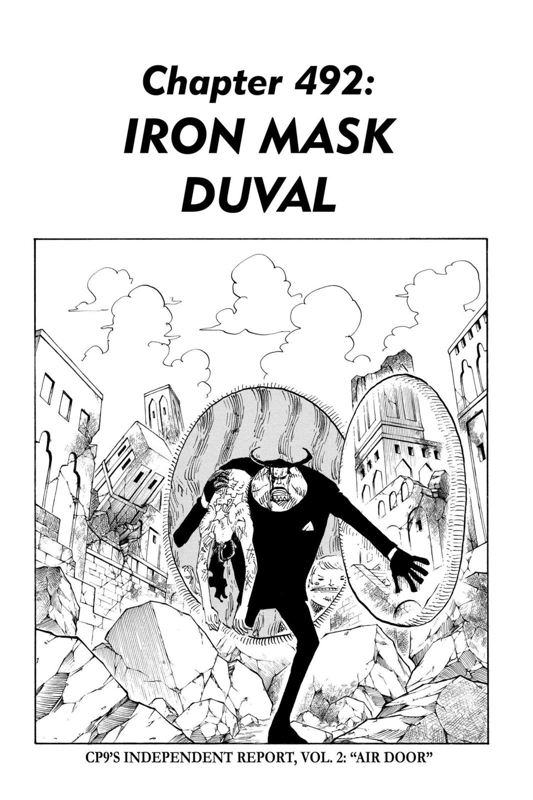 One Piece, Chapter 492 image 007