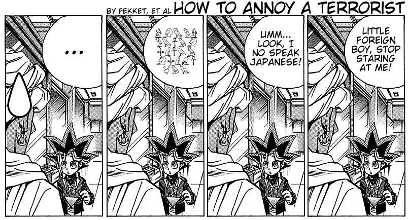 Yu Gi Oh, Chapter Vol.02 Ch.014 - The Man From Egypt, Part 2 image 025