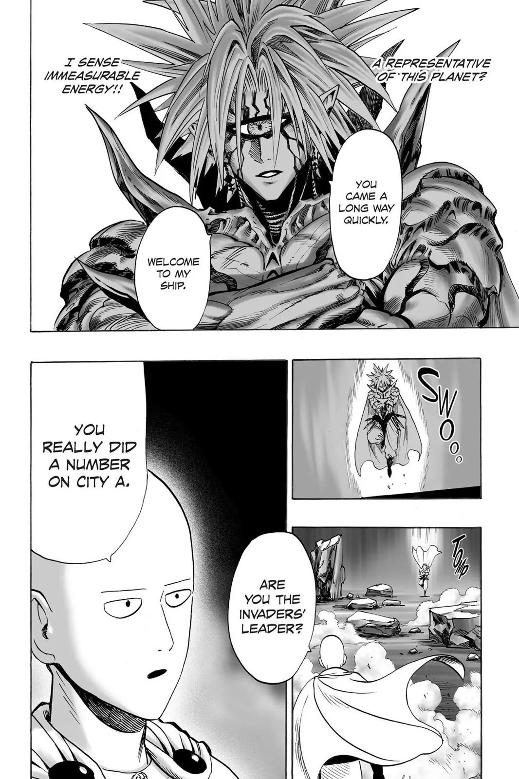 One Punch Man, Chapter Onepunch-Man 33 image 026