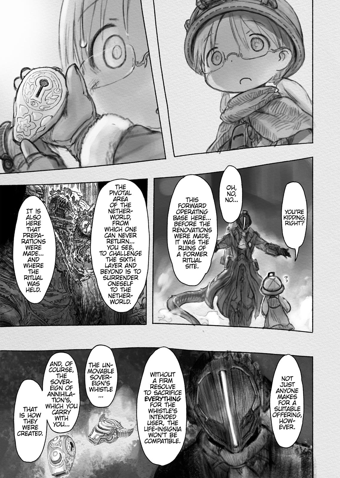 Made In Abyss, Chapter Hello,Abyss 34 image 013