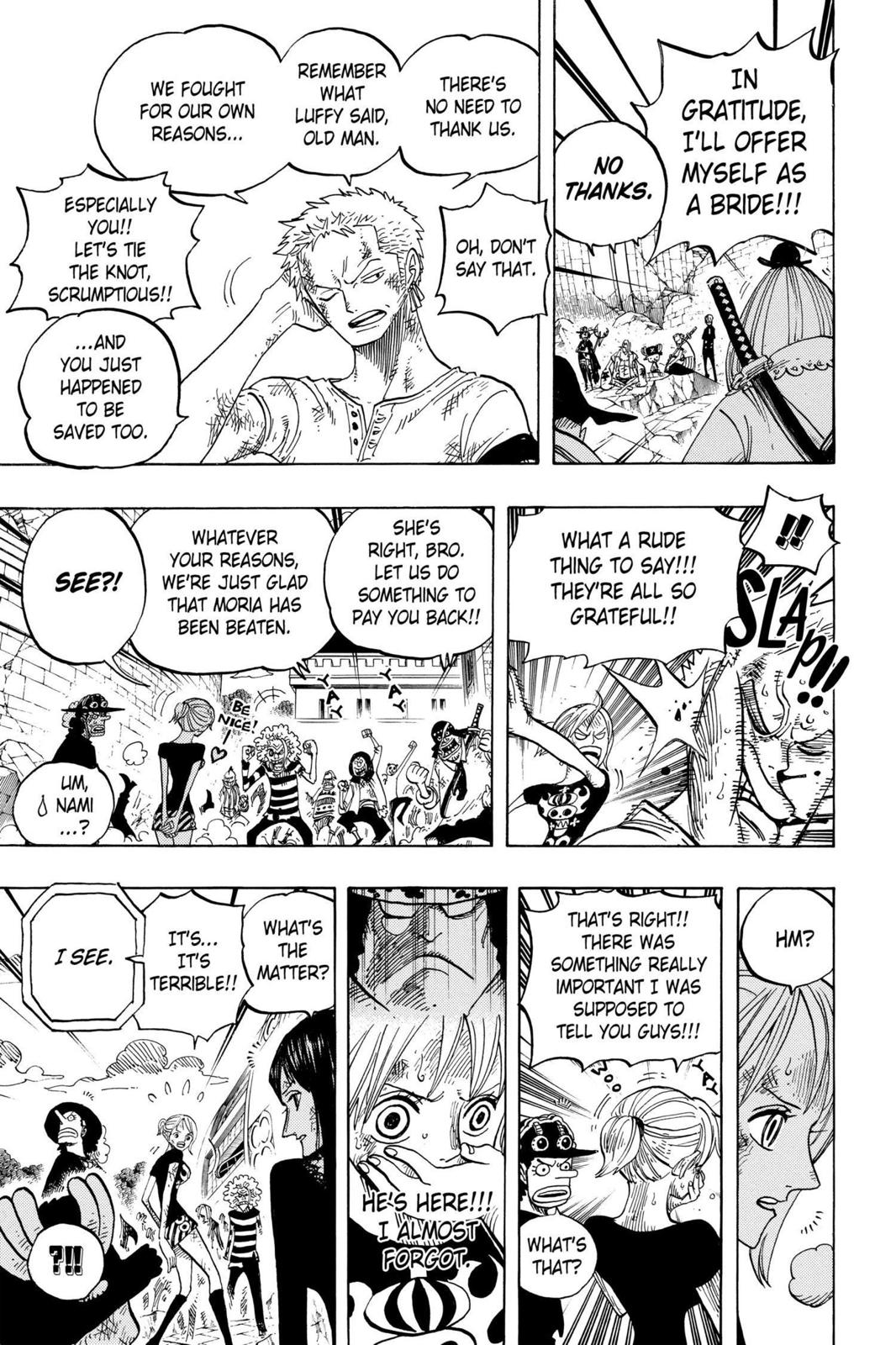 One Piece, Chapter 483 image 013