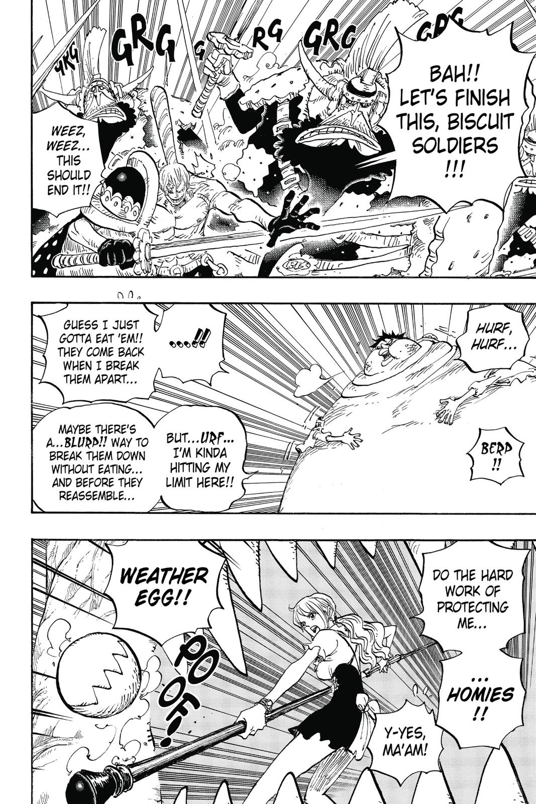 One Piece, Chapter 842 image 003