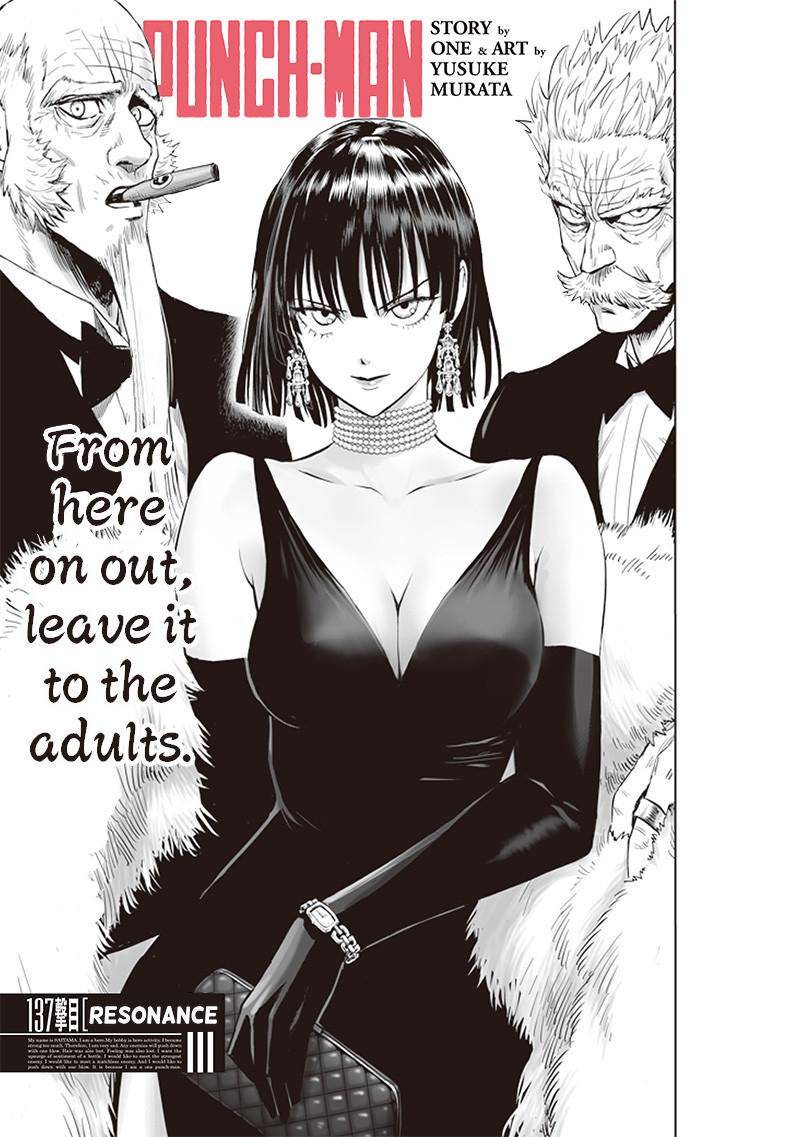 One Punch Man, Chapter 137 image 001