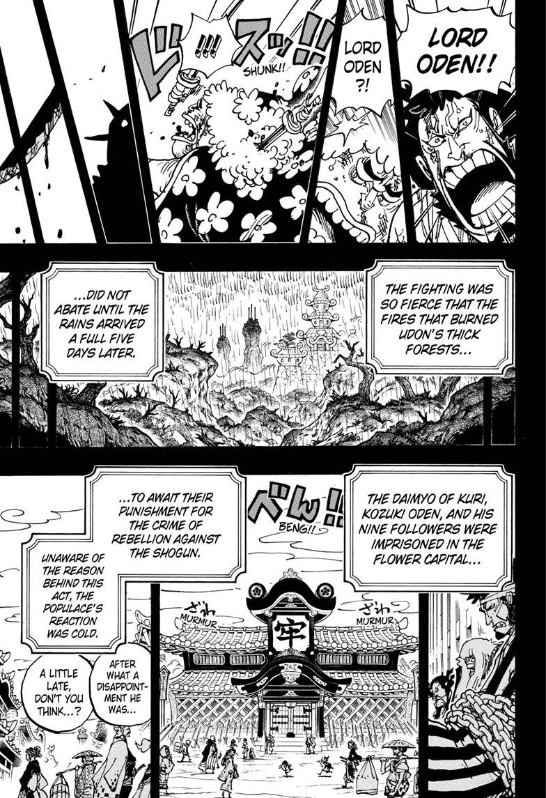 One Piece, Chapter 970 image 014