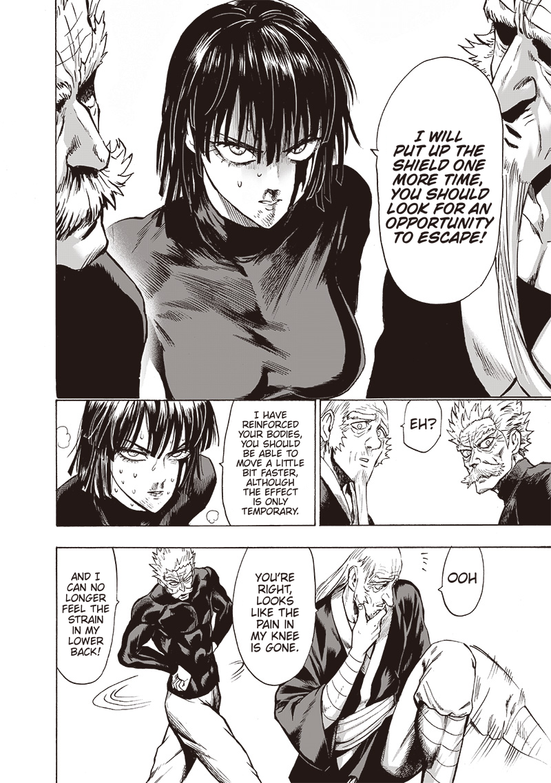 One Punch Man, Chapter One-Punch Man 124 image 013