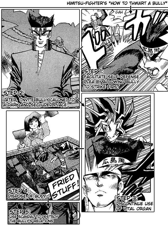 Yu Gi Oh, Chapter Vol.01 Ch.006 - Burning Struggle To The Death image 027