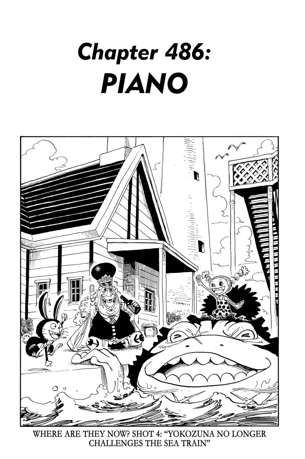 One Piece, Chapter 486 image 001