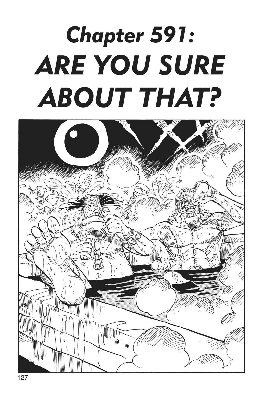 One Piece, Chapter 591 image 001