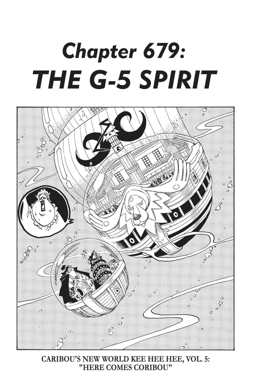 One Piece, Chapter 679 image 007