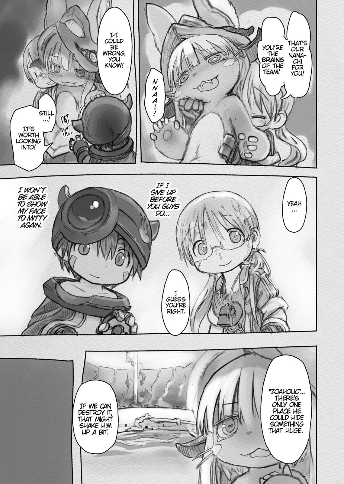 Made In Abyss, Chapter Hello,Abyss 33 image 023