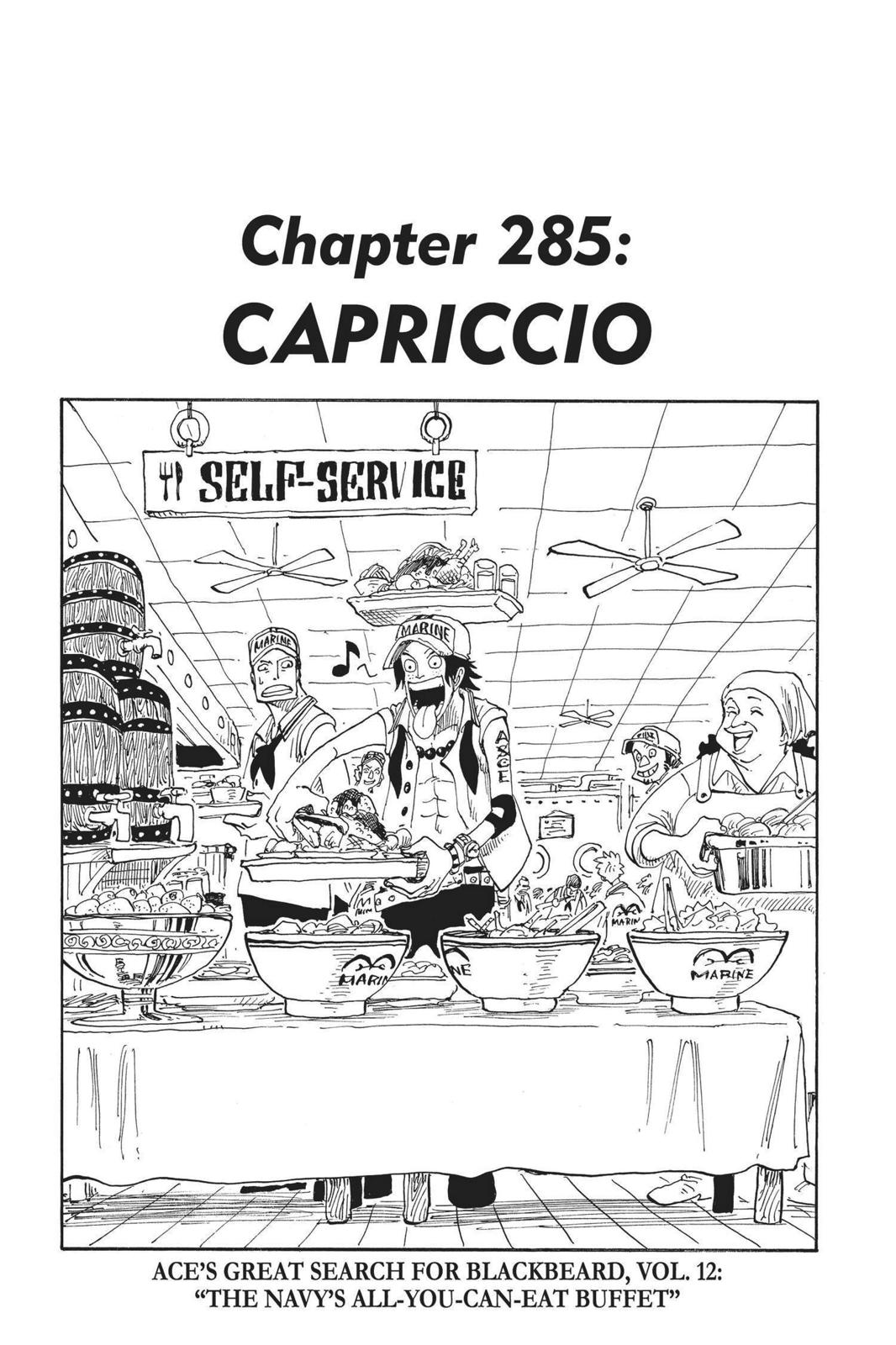 One Piece, Chapter 285 image 001