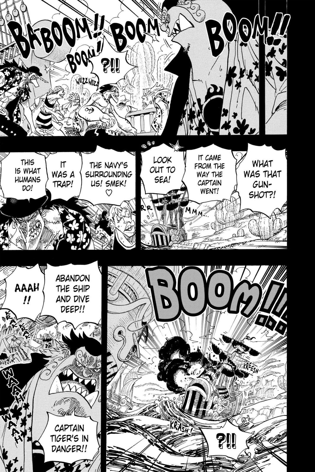One Piece, Chapter 623 image 011