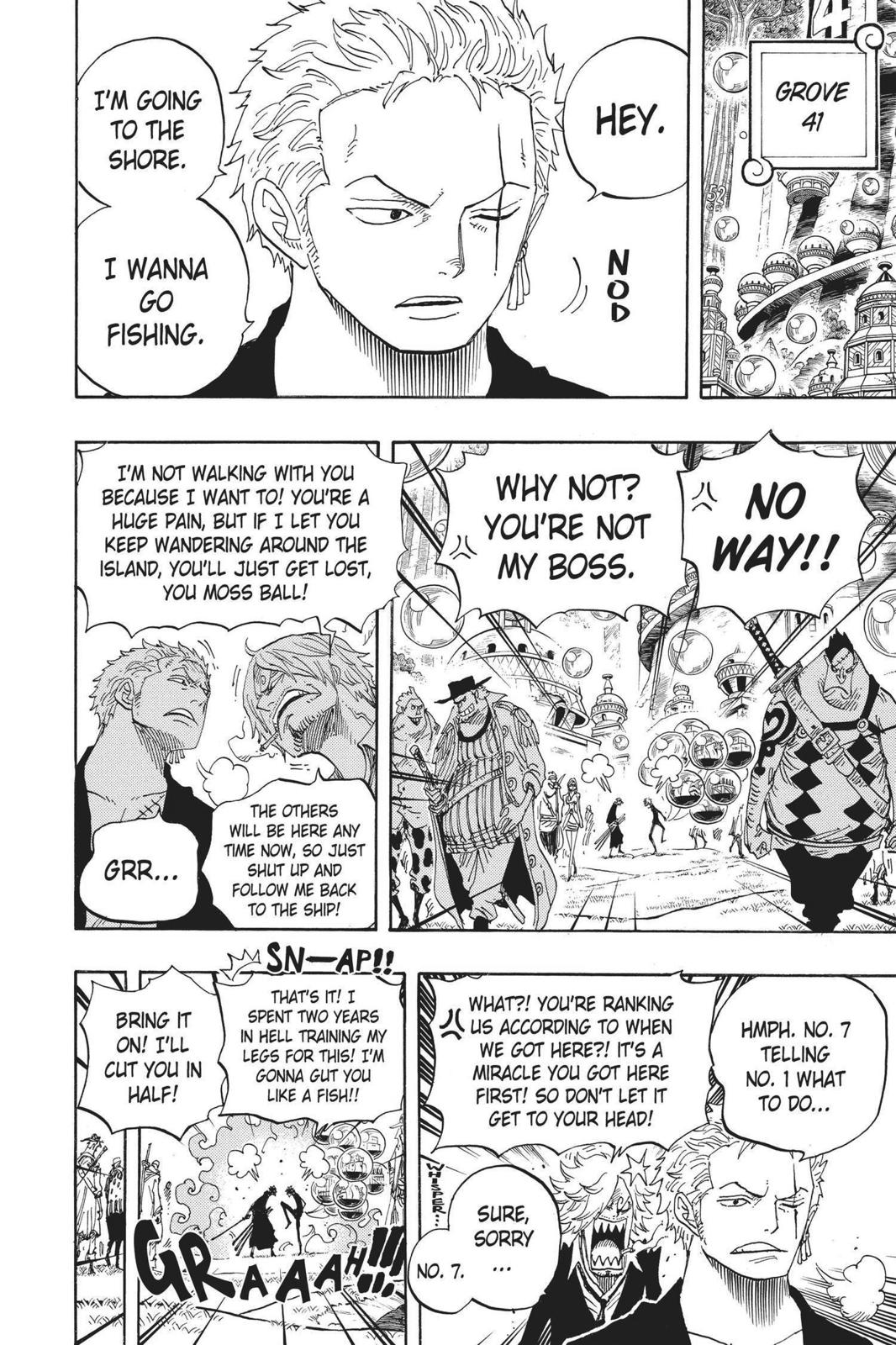One Piece, Chapter 600 image 006