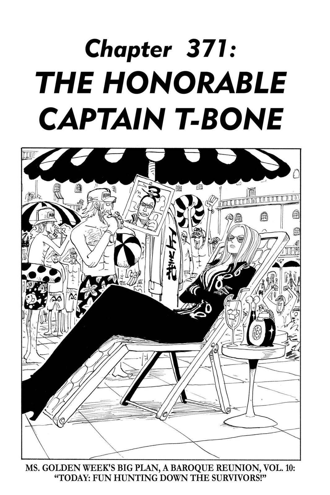 One Piece, Chapter 371 image 001
