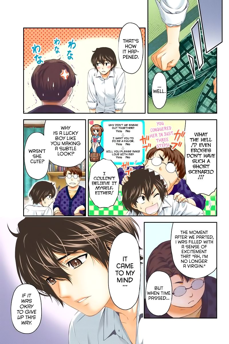 Domestic Girlfriend, Chapter 1 I want to become an adult quickly image 030