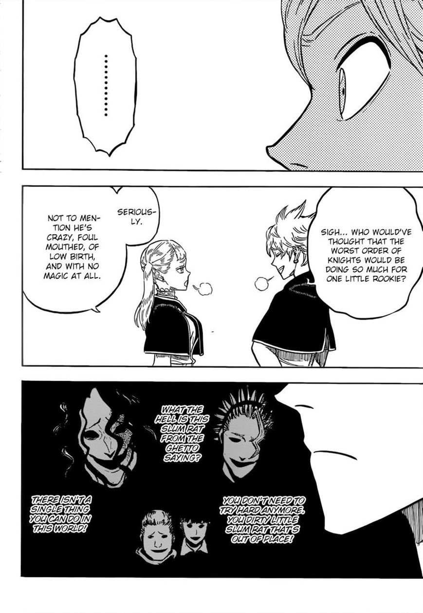Black Clover, Chapter 81 A Guy Like That image 006