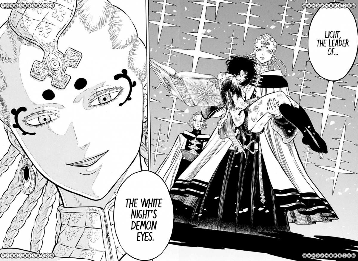 Black Clover, Chapter 46 The man who cuts death image 013