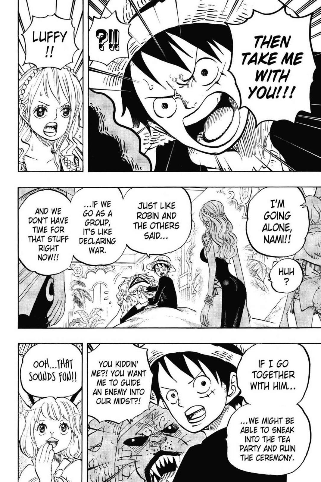 One Piece, Chapter 815 image 008