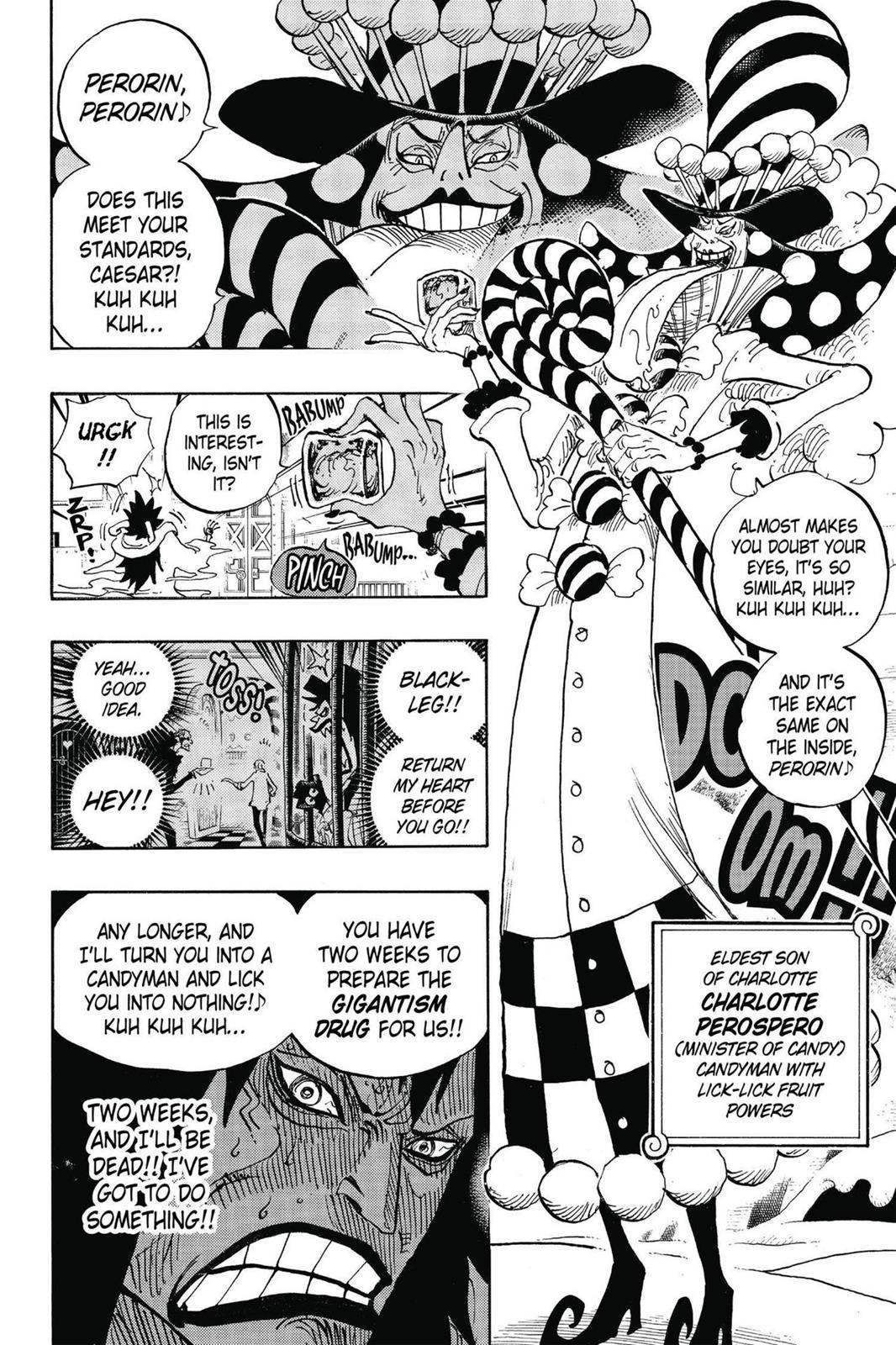 One Piece, Chapter 834 image 016