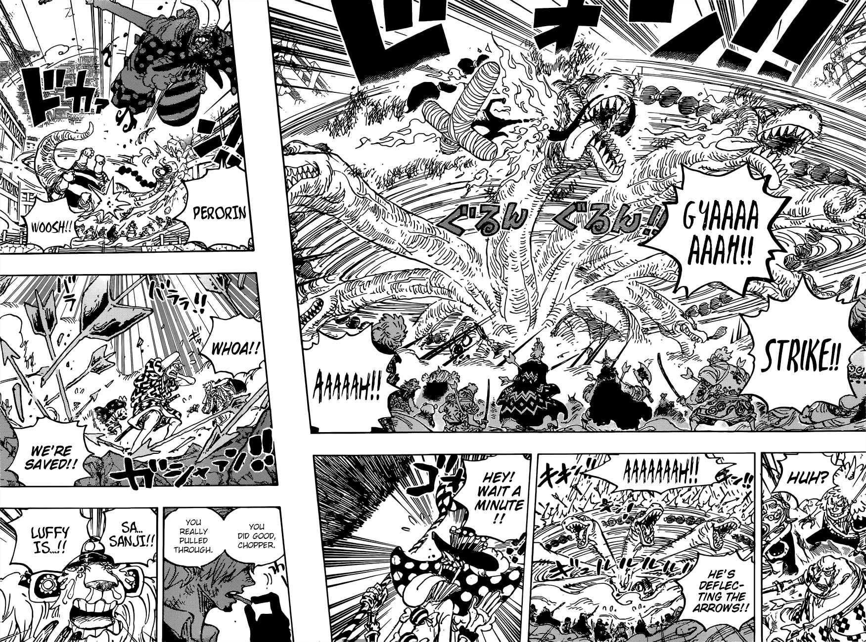 One Piece, Chapter 1015 image 007