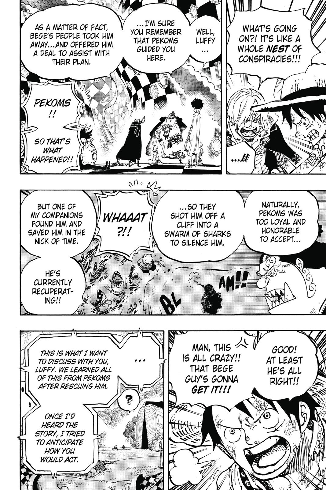 One Piece, Chapter 857 image 014