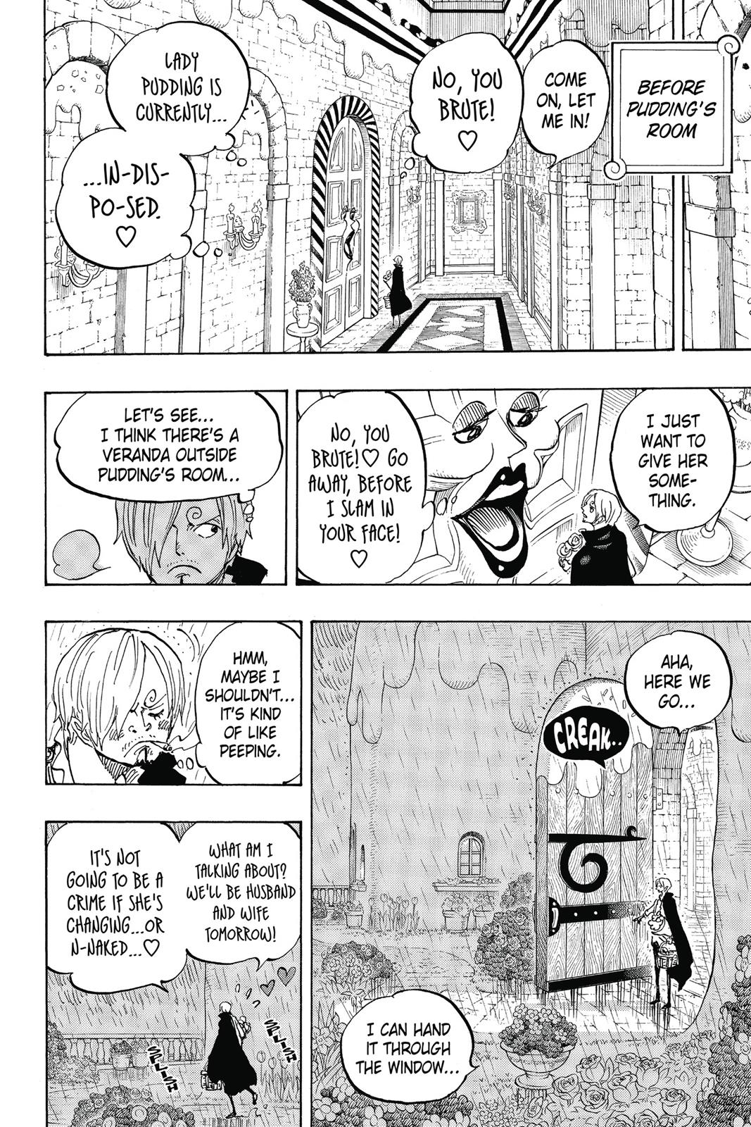 One Piece, Chapter 850 image 012