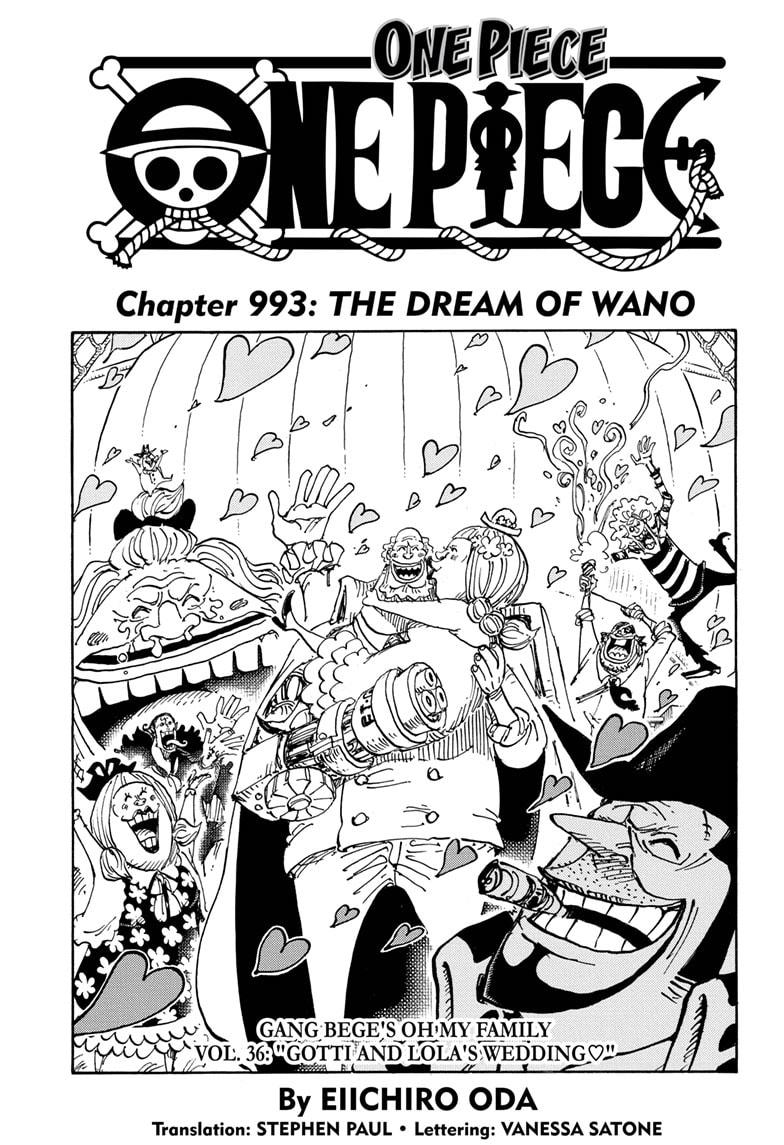 One Piece, Chapter 993 image 001