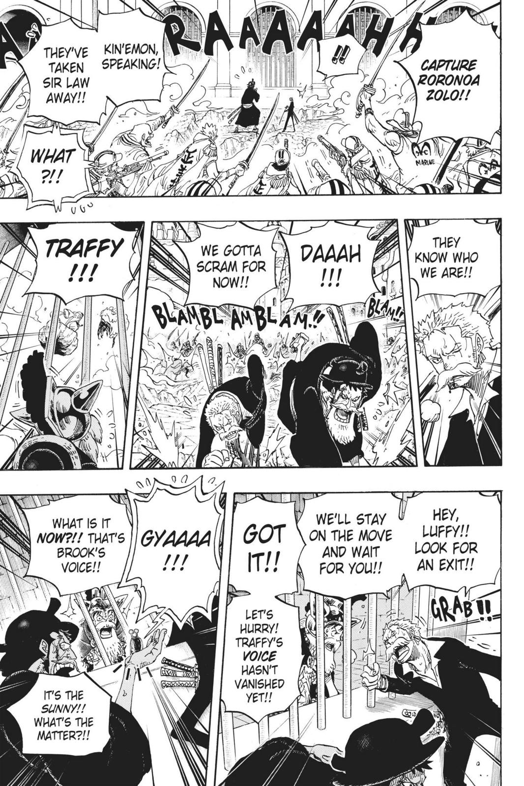One Piece, Chapter 730 image 010