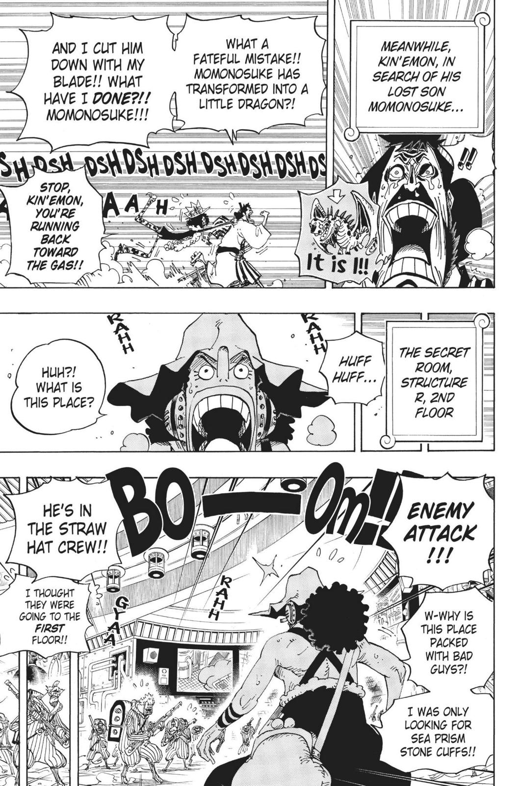 One Piece, Chapter 690 image 007