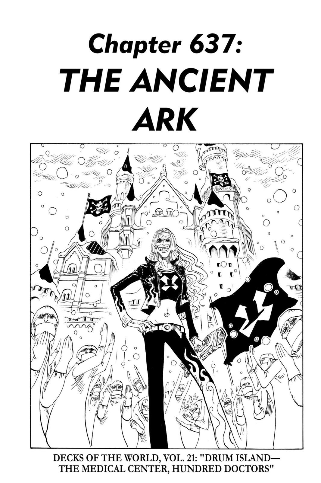 One Piece, Chapter 637 image 007