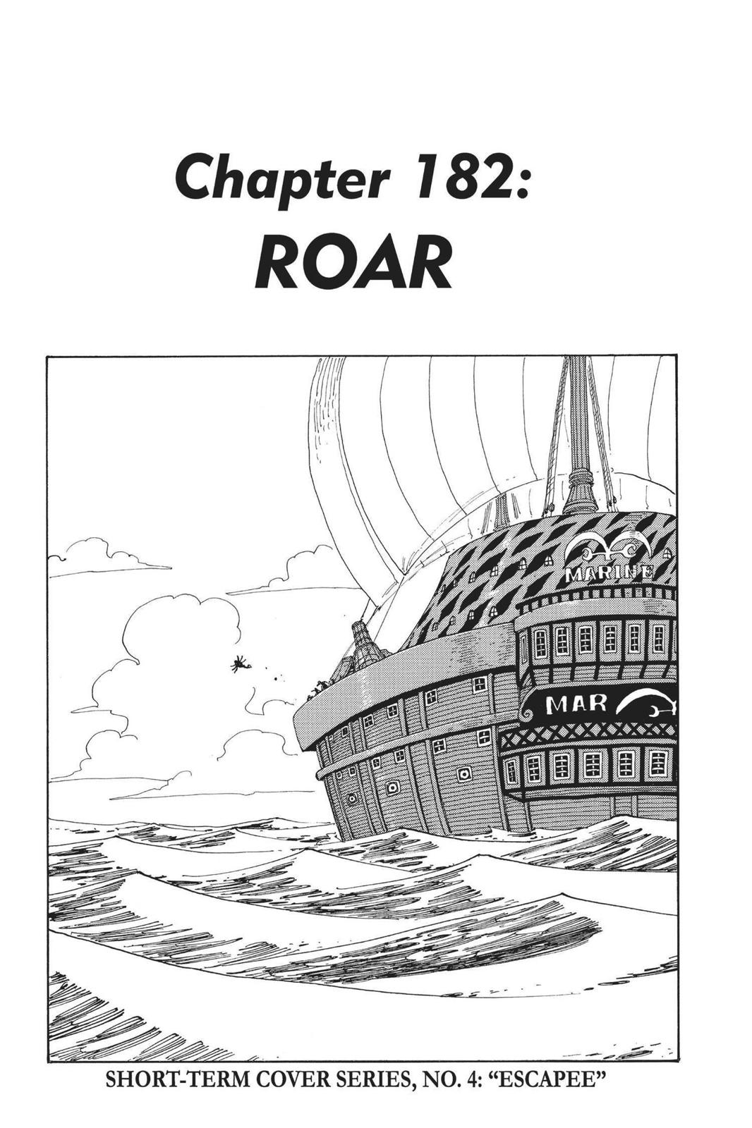 One Piece, Chapter 182 image 001