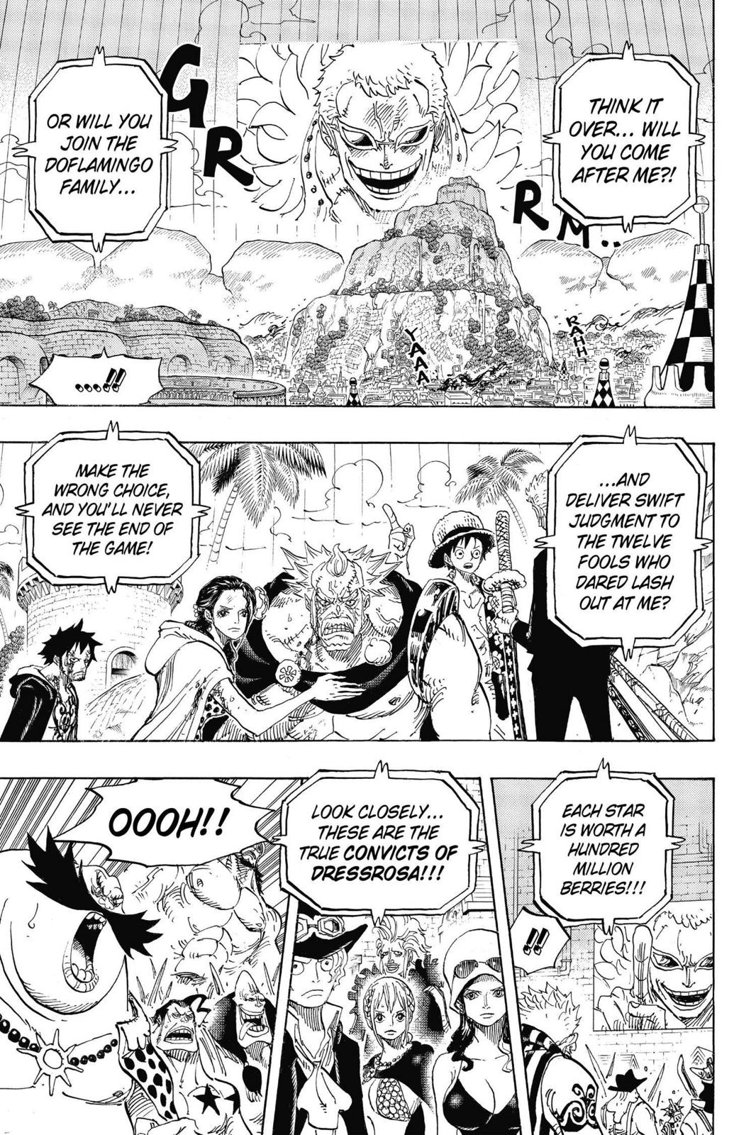 One Piece, Chapter 746 image 007