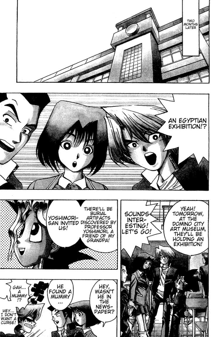 Yu Gi Oh, Chapter Vol.02 Ch.013 - The Man From Egypt, Part 1 image 005