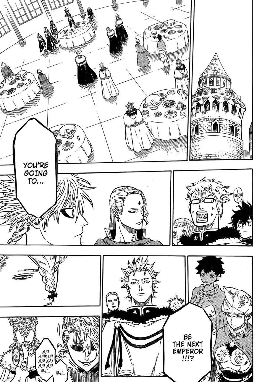 Black Clover, Chapter 24 The Riot At The Castle Town image 007