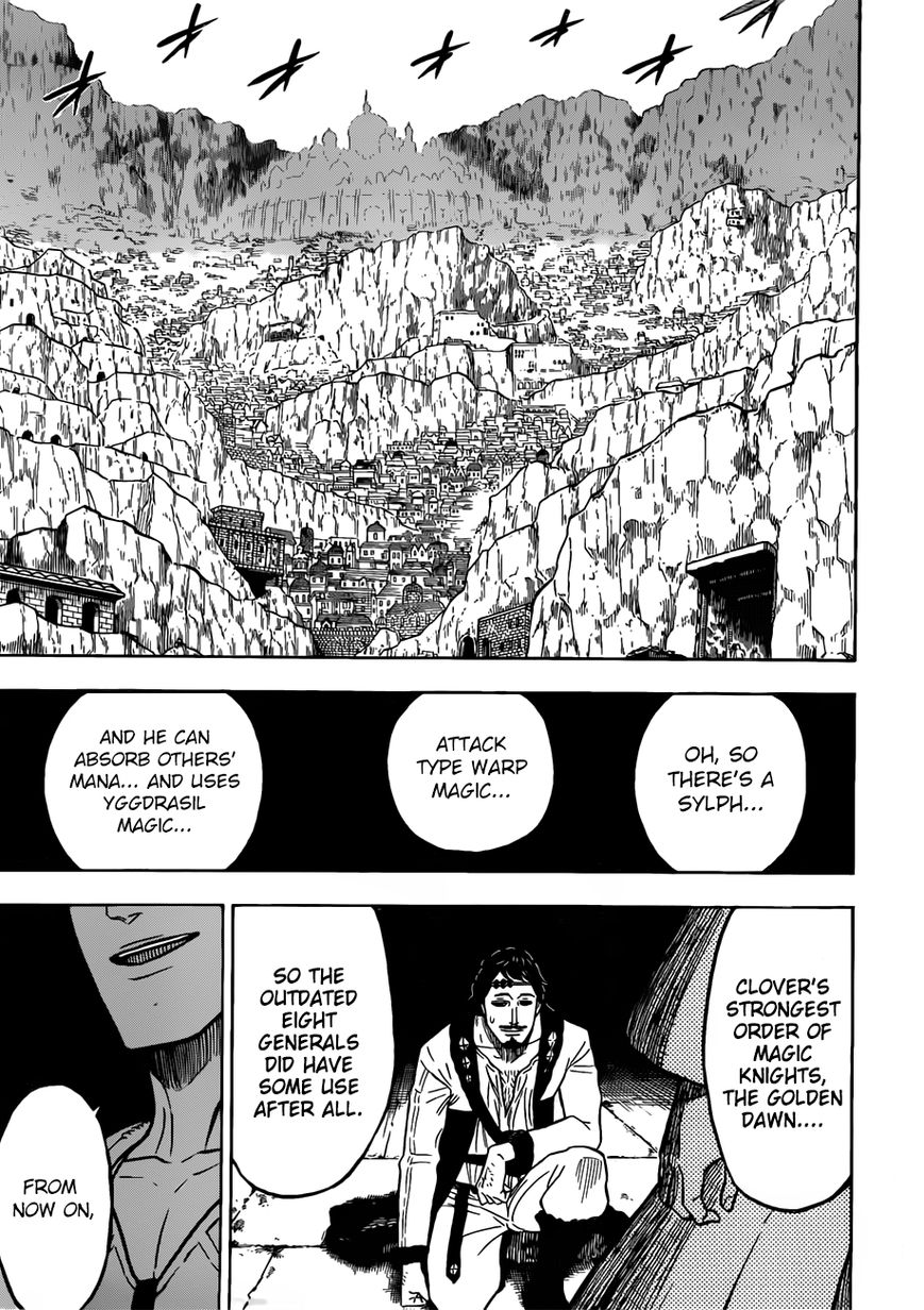 Black Clover, Chapter 79 The Depths of The Mask image 018