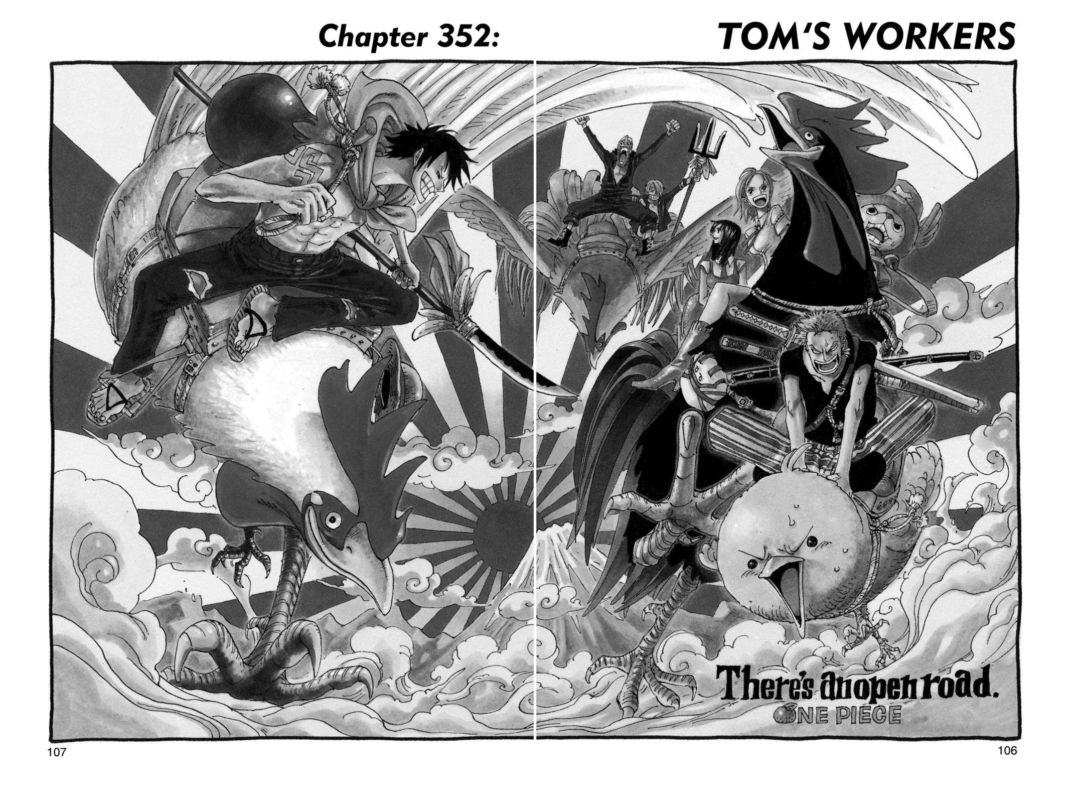 One Piece, Chapter 352 image 001